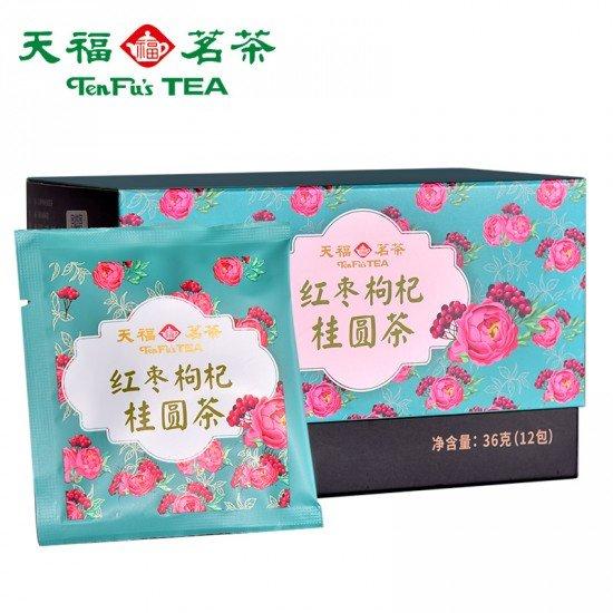 Red Jujube and Goji Berry Herbal Pyramid Tea Bag36G