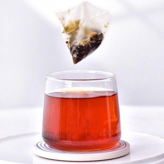 Chamomile Tangerine Ripe Pu-erh Herbal Pyramid Tea Bag36G