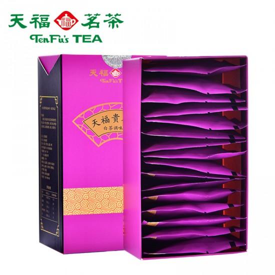 TenFu Guiren Tea White Camellia Fruit Tea Chinese Wolfberry Tea Bag 48g