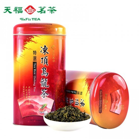 Taiwan High Camellia Frozen Top Oolong Tea Leaves Original Taiwan Tea 300g Pack-Ten Ren Oolong Tea