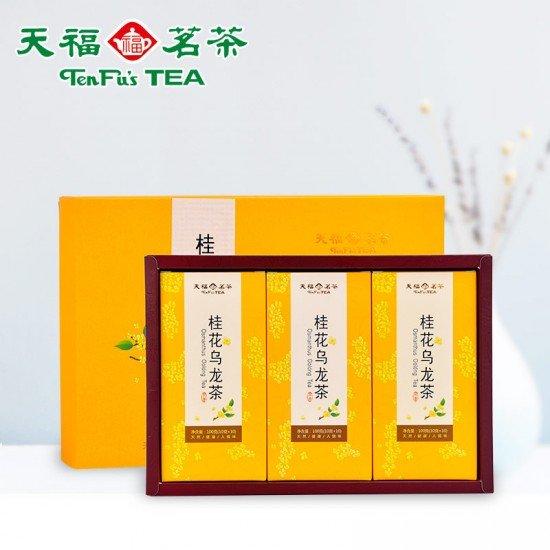 Premium Osmanthus Oolong Tea Gift Box 300G