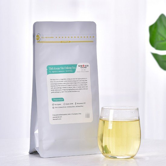 Anxi Tieh Kwan Yin Oolong Tea,Loose Leaf Tea Bag200G