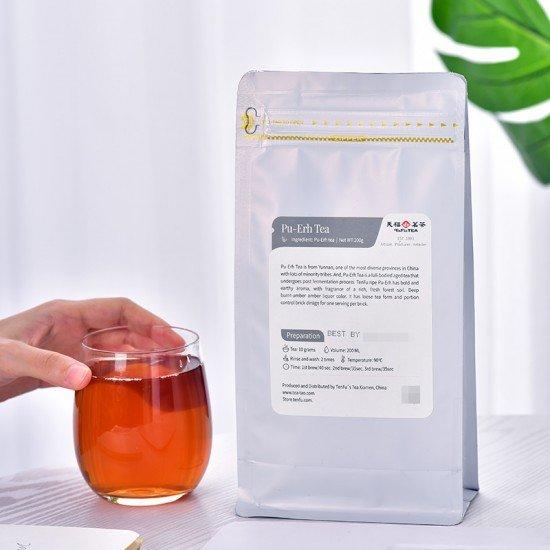 Yunan Ripe Pu-Erh Tea,Loose Leaf Tea Bag200G