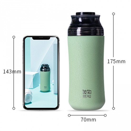Stainless Steel Vacuum Bottle - Travel Mug Vacuum Water Bottle 240ML