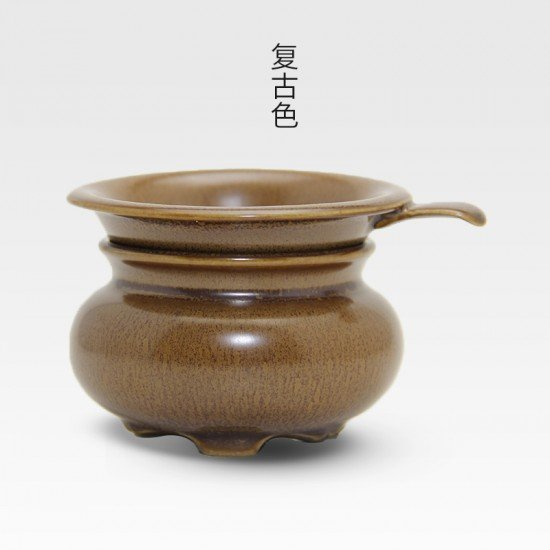 Ceramic Tea Strainer-Creative Infusers-Chinese Kung Fu Tea Set