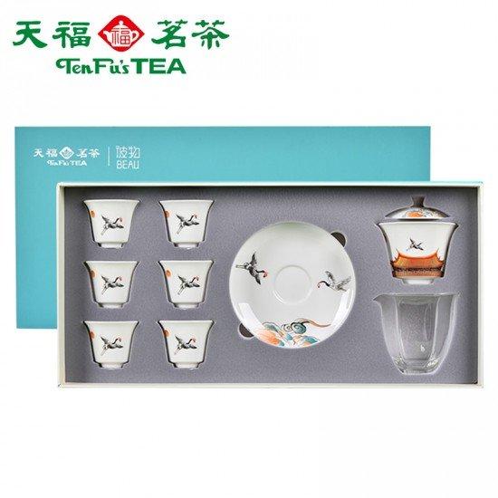 Dehua White Porcelain Chinese Kung Fu Tea Set Tea Ceremony Teaware