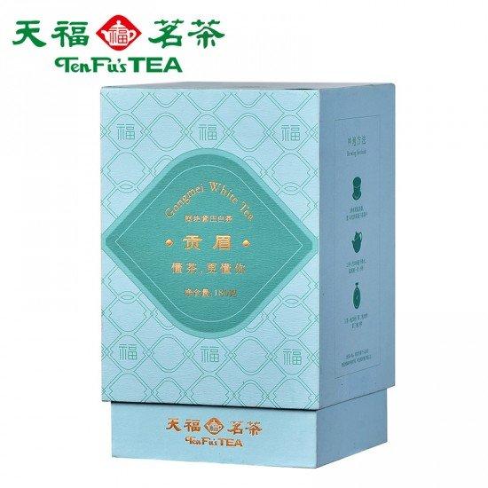 Good Fortune-White Tea Gong Mei-Tribute White