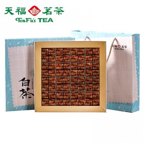 Luxury White Peony White Tea Mini Bricks Gift Collection 384G