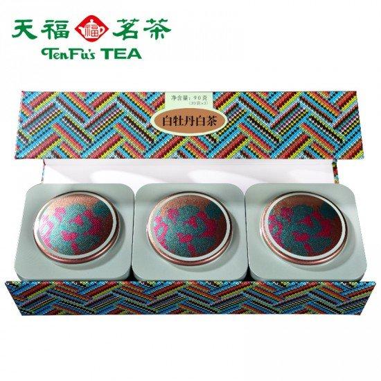 Premium White Peony (Bai MuDan) Tea Trio