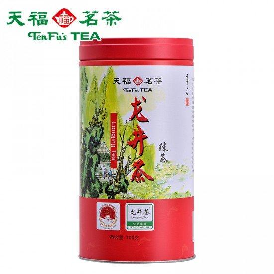 Dragon Well Chinese Green Tea  - Premium Loose Leaf Chinese LongJing Green Tea